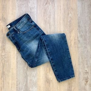 Banana Republic Acid Wash Distressed Denim 28